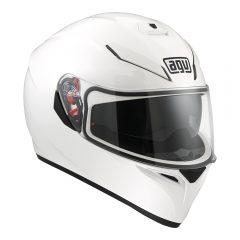 White AGV K-3 SV Helmet