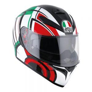 Avior White/Italy AGV K-3 SV Helmet