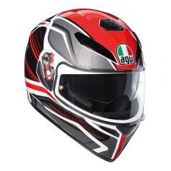 Proton Black/Red AGV K-3 SV Helmet