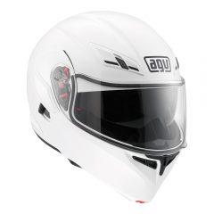 White AGV Compact ST Helmet