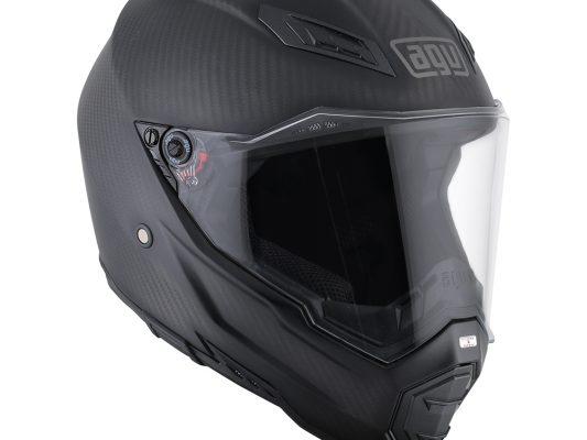 Matt CarbonAGV AX-8 Naked Carbon Helmet