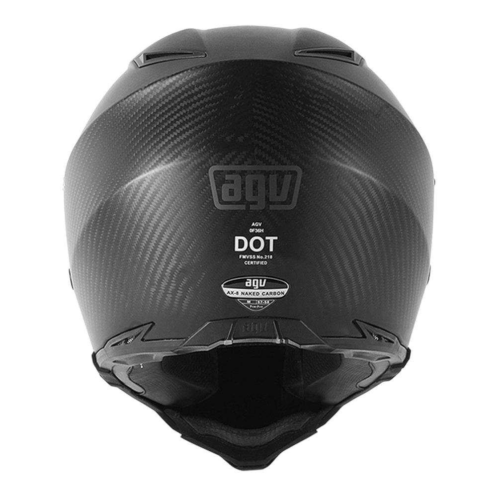 AGV AX-8 Dual Evo Naked Motorbike Helmet | UrbanBiker