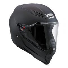 Black Matt AGV AX-8 Naked Evo Helmet
