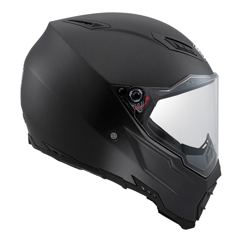 AGV AX-8 Naked Evo Helmet - Black Matt ⋆ Motorcycles R Us