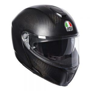 Matt Carbon AGV Sportmodular Helmet