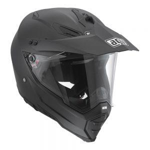 Matt Black AGV AX-8 Dual Evo Helmet