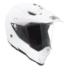 White AGV AX-8 Dual Evo Helmet