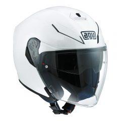 Pearl White AGV K-5 Jet Helmet