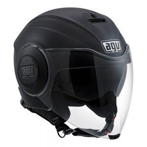 Matt Black AGV Fluid Helmet