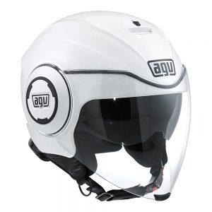 White Pearl AGV Fluid Helmet
