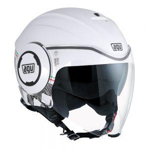 Garda White/Italy AGV Fluid Helmet