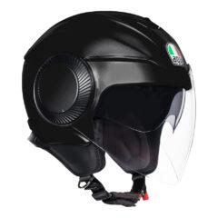Matt Black AGV Orbyt Helmet Front