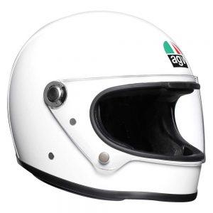 White AGV X3000 Helmet
