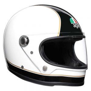 Super AGV Black/White AGV X3000 Helmet
