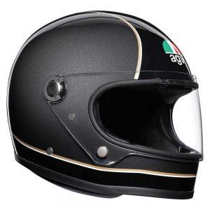 Super AGV Black/Grey/Yellow AGV X3000 Helmet