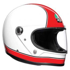 Super AGV Red/White AGV X3000 Helmet