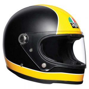 Super AGV Matt Black/Yellow AGV X3000 Helmet