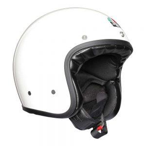 White AGV X70 Helmet