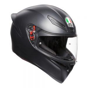 Matt Black AGV K1 Helmet
