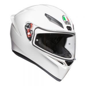 White AGV K1 Helmet