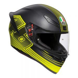 Edge Black/Yellow AGV K1 Helmet