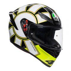 Gothic 46 Black AGV K1 Helmet