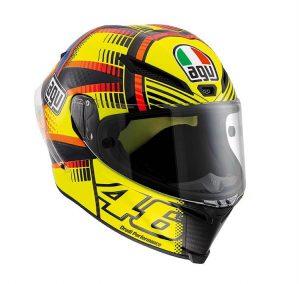 AGV Pista GP Carbon Rossi Replica Soleluna Qatar 2015 Helmet