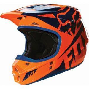 Fox V1 Race Orange/Blue 2016