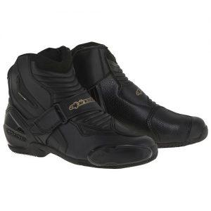 Alpinestars Stella SMX-1 R Vented Womens Boots - Black/Gold