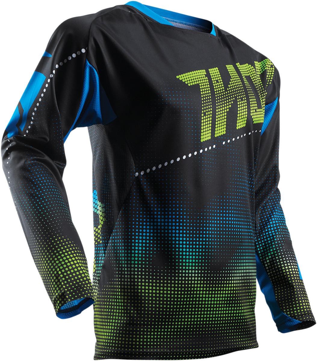 Black/Blue/Green Thor Fuse Lit Jersey
