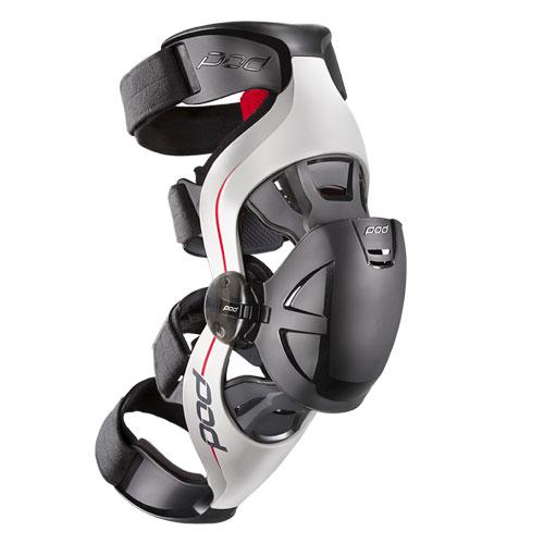 Grey/Red POD K4 Knee Brace LEFT