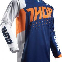 Orange/Navy Thor Pulse Aktiv Youth Jersey