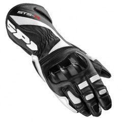 Spidi STS-R Leather Ladies Glove - Black/White