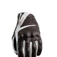 Brown/White Five Sportcity Womans Glove
