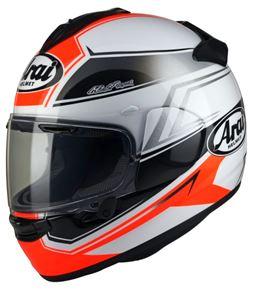 Shaped Red Arai Chaser-X Helmet