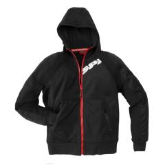 Black Spidi Hoodie Armour Jacket