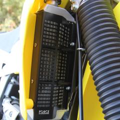 Black Suzuki DR-Z 400 E Radiator Guard