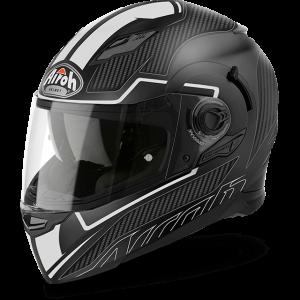 Faster White Matt Airoh Movement Helmet