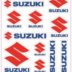 990AM-02005-SUZ Suzuki A5 Sticker Set