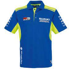 S990F0-M9PSM-00x Suzuki 2019 MotoGP Team Polo Shirt