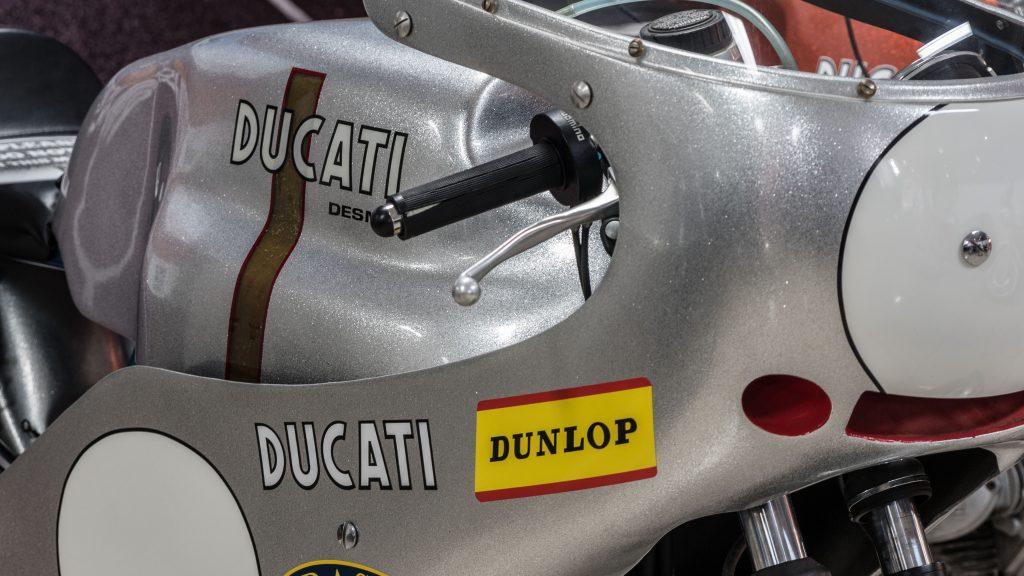 Classic Ducati's on show.