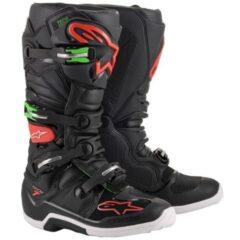 Black/Red Alpinestars Tech 7 Boot
