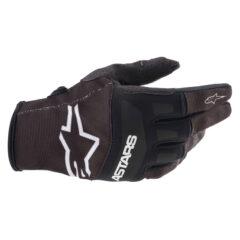 Black/White Alpinestars Radar Youth Glove