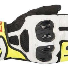 Black/White/Yellow Alpinestars SP Air Gloves