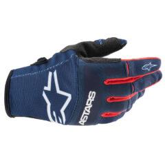 Blue/Red/White Alpinestars Techstars Glove