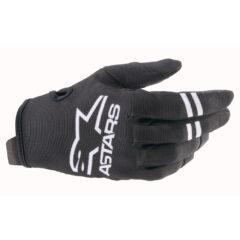 Black/White Alpinestars Radar Glove