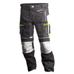 Black/Grey/Fluro MotoDry Advent-Tour Trekker Pants Front