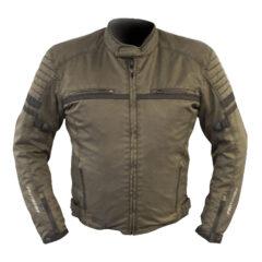 Vintage Brown MotoDry Clubman Jacket Front