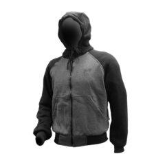 Black/Grey MotoDry Streeet Hoodie Front