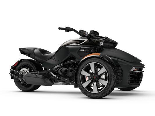 Black Can-Am Spyder F3 S 2018
